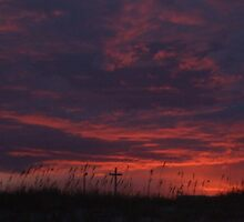 Sunset at Jacksonville Beach by icemaiden6173