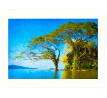 Dream Tree - Lake Nicaragua Art Print