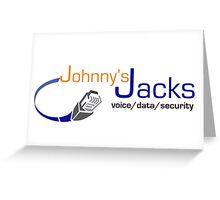 Johnnys Jacks  Greeting Card