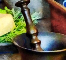 Two Mortar and Pestles in Kitchen Sticker