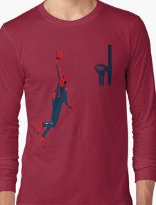 Dwight Howard Basketball Dunk Long Sleeve T-Shirt