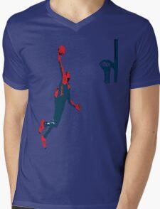 Dwight Howard Basketball Dunk Mens V-Neck T-Shirt