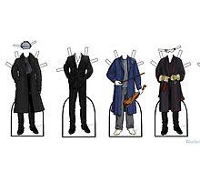 Sherlock Paper Dolls by bluebell42
