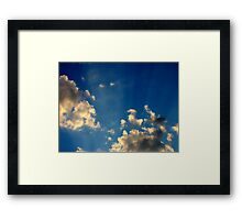Sunset Clouds 4 Framed Print