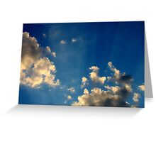Sunset Clouds 4 Greeting Card