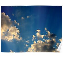 Sunset Clouds 4 Poster