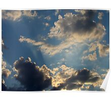 Sunset Clouds 5 Poster