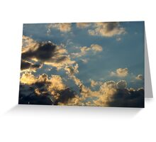 Sunset Clouds 6 Greeting Card