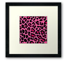Pink Animal Framed Print