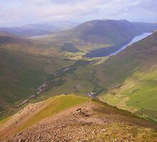 The Lake District: A View from Kirk Fell by Rob Parsons