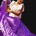 Folklore Dancer, Ciudad Colon, Costa Rica by Guy Tschiderer