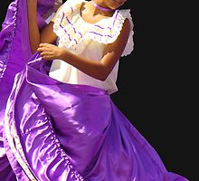 Folklore Dancer, Ciudad Colon, Costa Rica by Guy C. André Tschiderer