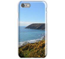 """ Yellow Gorse, Turquoise Sea "" iPhone Case/Skin"