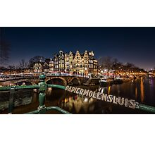 Amsterdam - Prinsengracht Photographic Print