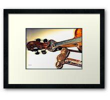 Violin Repair  Framed Print