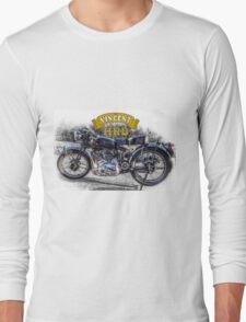 Vincent HRD Black Shadow Motorcycle Long Sleeve T-Shirt