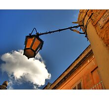Hanging Lamp at Mdina Photographic Print