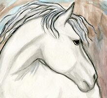 Horse With No Name by Roz Abellera Art Gallery