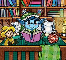 Wee Beasties - Wee Goblin by whimsyworks