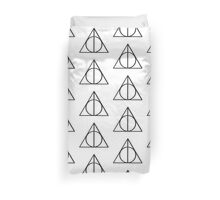 Harry Potter Deathly Hallows symbol Duvet Cover