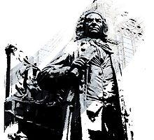 Johann Sebastian Bach by vivalarevolucio