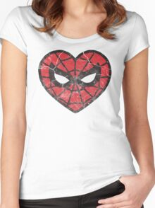 I <3 Spider-man Women's Fitted Scoop T-Shirt