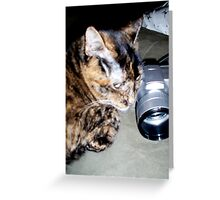 ZOE THE PHOTOGRAPHER Greeting Card