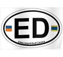 Edisto Island - South Carolina.  Poster
