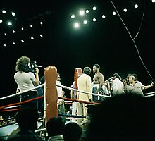 Frazier at Weigh-in Before The Thrilla In Manila. Photographic Print