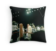 Frazier at Weigh-in Before The Thrilla In Manila. Throw Pillow