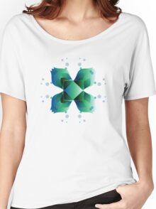 Water Blooms - Square Women's Relaxed Fit T-Shirt