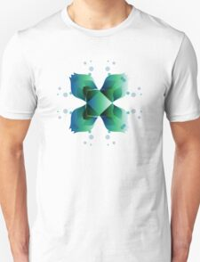 Water Blooms - Square T-Shirt