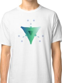 Water Blooms - Triangle Classic T-Shirt
