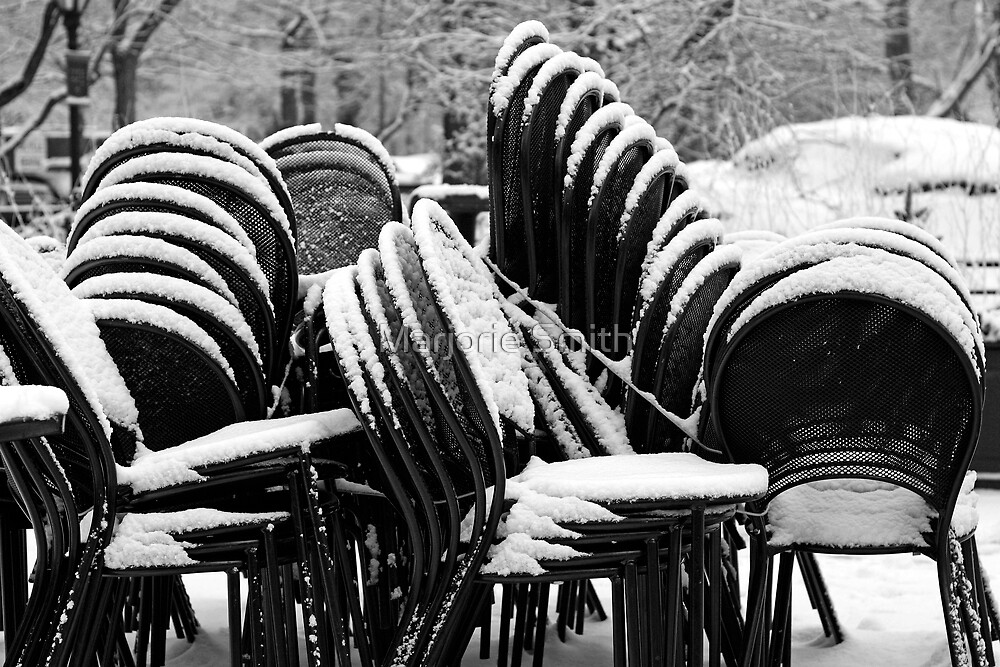 Stacked Chairs by Marjorie Smith
