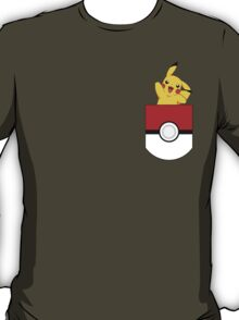 there is pikachu in my pocket!?!? T-Shirt