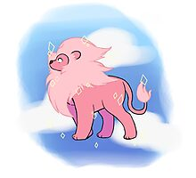 Bigger Lion from Steven Universe Photographic Print