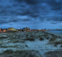 Port Melbourne Beach by Darren Greenwell