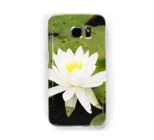 Water lily Samsung Galaxy Case/Skin