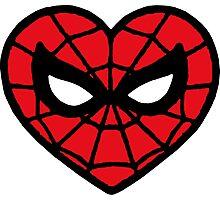 I <3 Spider-man v.2 Photographic Print