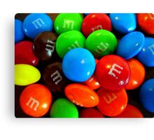 M&M's Canvas Print