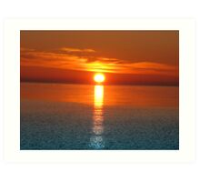 Sunrise V ( Lake Ontario)... Art Print