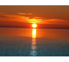Sunrise V ( Lake Ontario)... Photographic Print