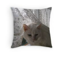 Just a beautiful old lady Throw Pillow