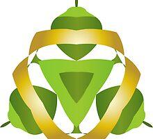 Green Nuts by BorisBurakov