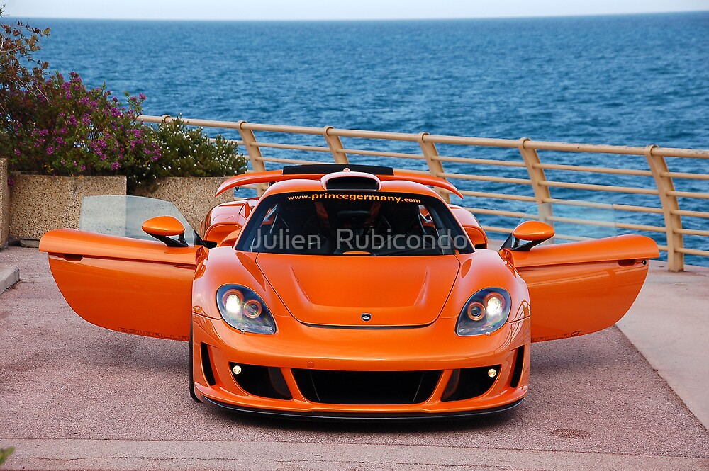 Photoshooting of Gemballa Mirage GT by Julien  Rubicondo