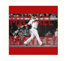 Michael Brantley Art Print