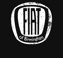 Fiat of Birmingham - white logo Zipped Hoodie