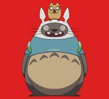 Finn Totoro One Piece - Short Sleeve