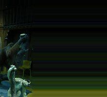 Le singe voulou (dans le temp perdu) by barreira