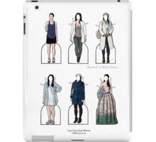 Joan Watson Paper Dolls iPad Case/Skin